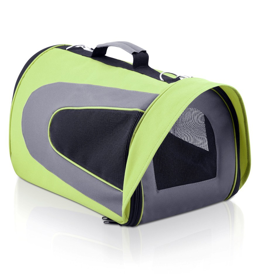 i.Pet Extra Large Portable Foldable Pet Carrier - Green