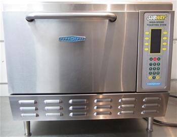 Turbochef Subway High Speed Toasting Oven On Legs