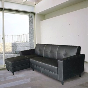 Genuine Leather Sofa L Shape Lounge W Chaise Left