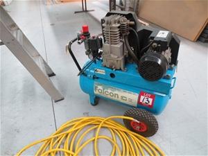 Sip Portable Air Compressor Model Falcon Auction 0013