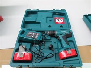 Makita Cordless Drill Driver Model 6391d 18 Volt In