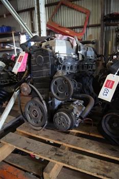 Petrol engine - Toyota 84 Hilux 18RG (import) EFI 4 cylinder  (Shed area)