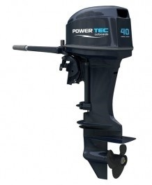 Powertec 40 Hp 2 Stroke Outboard Motor Model Pp40aerts