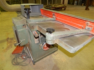 Combination thicknesser/planer, SCM Invi