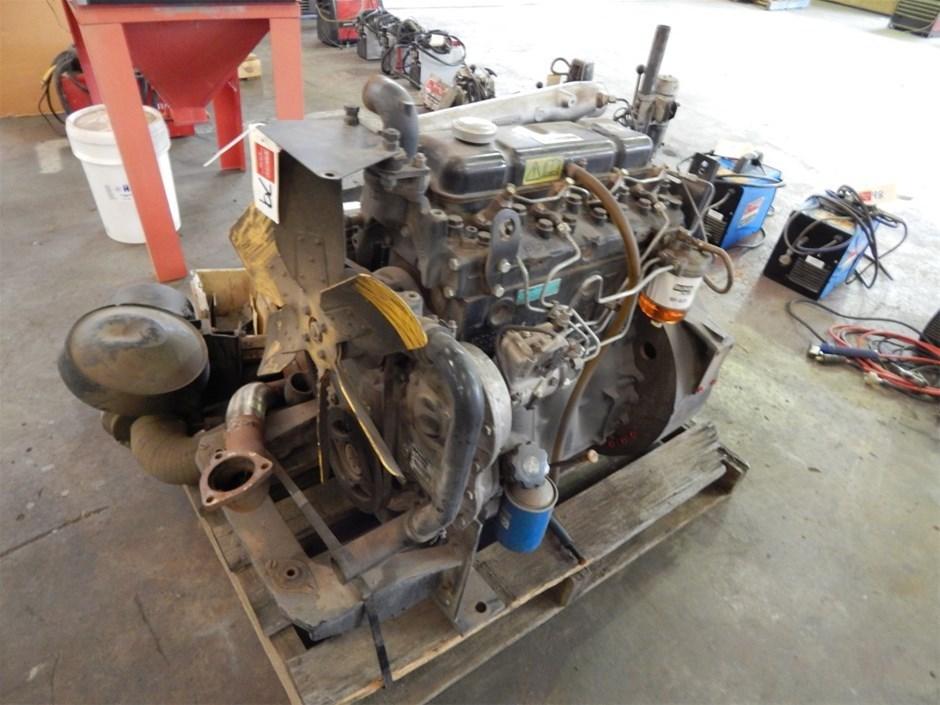 Diesel Engine, Perkins 4 Cylinder Model 1239-1500, S/N ...