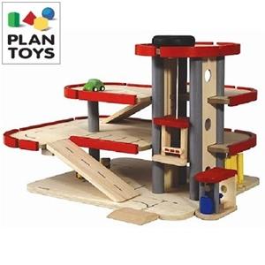 Plan Toys Parking Garage Toy Set