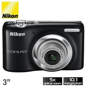 Nikon Coolpix L25 10.1MP Digital Camera
