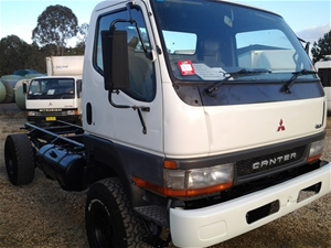 1f550d4920 2001 Mitsubishi Canter FG637 4x4 Cab Chassis Truck Auction (0037 ...