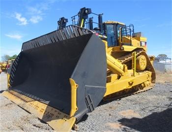 For Sale - 9 x Caterpillar D8R, D9R, D10T & D11T Dozers