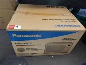 Microwave Oven Panasonic Model Nn Cd997