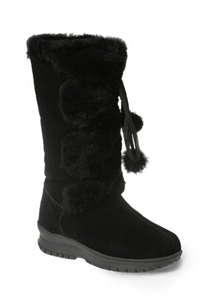 7f8b335d087 Ozwear UGG Pom Pom Long Boots in Various Colours Black