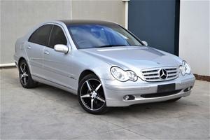 2002 Mercedes Benz C200 Kompressor Elegance W203 159342 Automatic