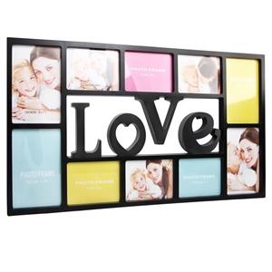 buy set 10 in 1 love photo collage frame black graysonline australia