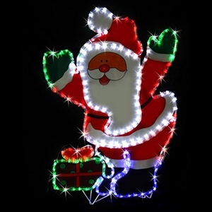 Buy solar led santa present rope light xmas display graysonline solar led santa present rope light xmas display aloadofball Choice Image