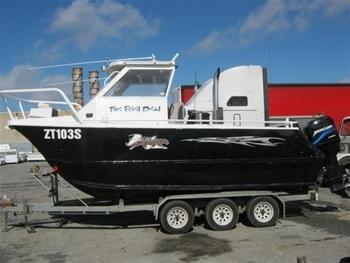 Haines Hunter Aluminium Boat 4 1m Auction 0017 3000766