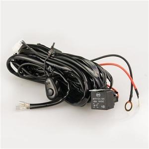 Car LED Wiring Relay Kit 12V 40A 300W wi
