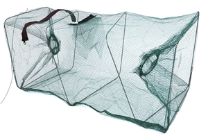 3 x Fishing Bait Traps, 570 x 270mm Squa