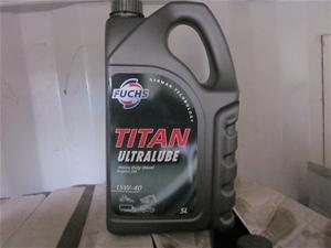 Fuchs Ultra lube heavy duty diesel engine oil 15W - 40, 5ltr bottle