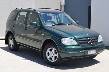unreserved 2001 mercedes benz ml320 luxury 4wd. Black Bedroom Furniture Sets. Home Design Ideas