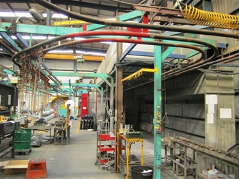 Annealing, Shot blasting and Paint Line