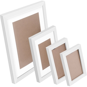 26 Piece Photo Frame Set - White