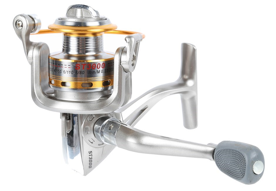 Fishing Reel 6BB, Gear Ratio: 5.1:1, Line Capacity 0.22/200, 0.25/150, 0.30