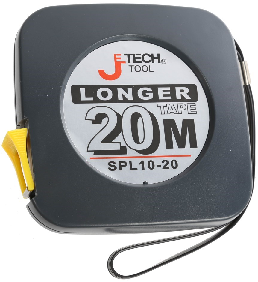 JETECH 20M Long Tape Measure 25mm Coated Metal Tape. Buyers Note - Discount