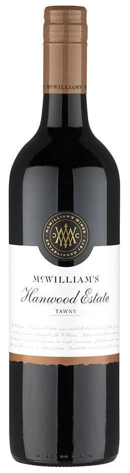 McWilliam's `Hanwood Estate` Classic Tawny NV (6 x 750mL) SE AUS.
