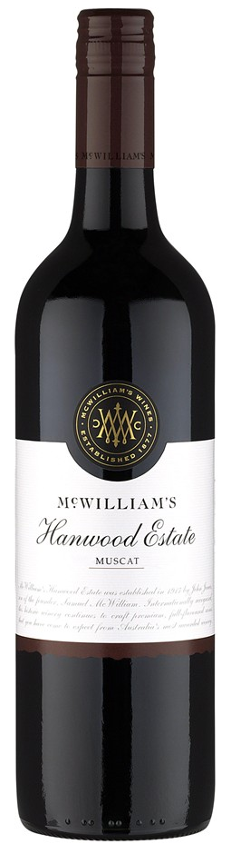 McWilliam's Hanwood Classic Muscat NV (6 x 750mL), SE AUS.
