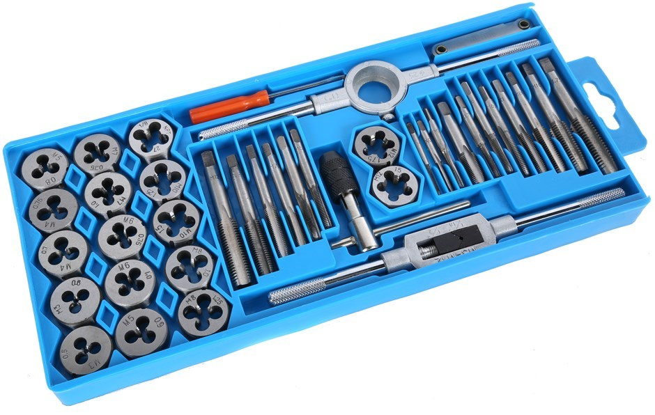 BERENT 40pc Metric Tap & Die Set. Buyers Note - Discount Freight Rates Appl