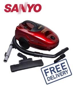 New Sanyo Bagless Vacuum Cleaner