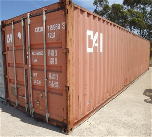40 foot steel shipping container auction 0023 3010477 for 30 foot shipping container