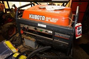 Admirable Generator Kubota Model Av6500 S No 679097 Rated Max Output Wiring Cloud Brecesaoduqqnet