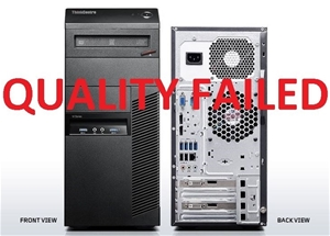 Lenovo ThinkCentre M93p Tower PC, Black