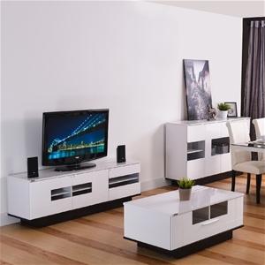 High Gloss Mona Sitting Room Set - TV Unit, Buffet Unit, Coffee ...