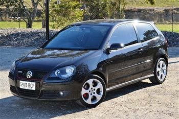 2007 volkswagen polo 9n gti my2007 turbo 113346 manual auction 0001 3011055. Black Bedroom Furniture Sets. Home Design Ideas