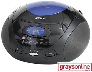 Jensen Boombox Cd 477 Black Auction 0075 9002932