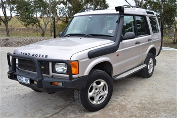 2001 land rover discovery td5 turbo diesel 4wd 7 seater 228935 auto auction 0001. Black Bedroom Furniture Sets. Home Design Ideas