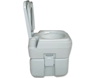 Buy Portable Toilet - Camping Potty Restroom - 20L Square L ...