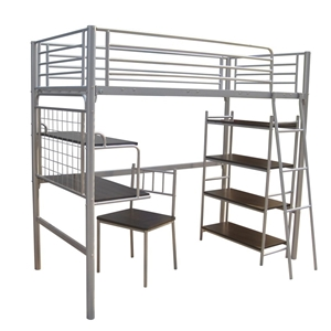 Buy Bunk Bed (Single + Desk Combo) with Ladder  GraysOnline Australia