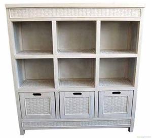 9 Cube Storage Unit White Wash Auction 0001 7001488 Graysonline Australia
