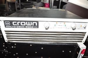 crown macro tech 5002vz service manual
