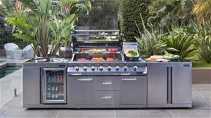 Gasmate Platinum  Burner Outdoor Kitchen