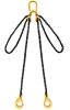 Lifting Chain Sling, 2Leg, WLL 2600kg, 7mm Chain x 2M c/w Clevis Self Locki