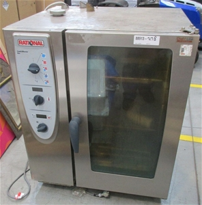 Rational Combi Master Combination Steam Oven Model Cm