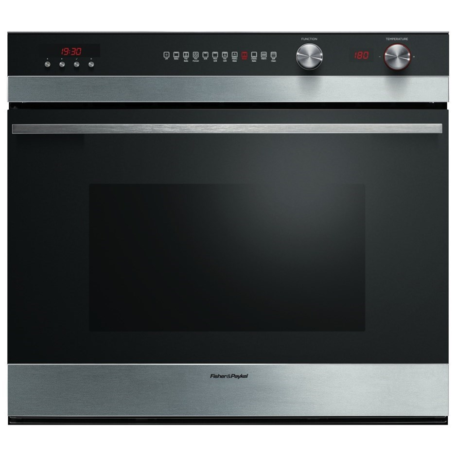 Fisher & Paykel 76cm Stainless Steel Pyrolytic Built-In Oven (OB76SDEPX3)