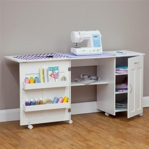Buy Mobile Craft Desk Or Sewing Machine Table