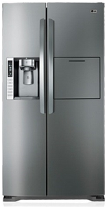 LG 693L Stainless Steel Side By Side Ref