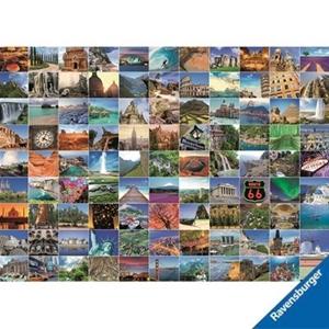 Buy Ravensburger 99 Most Beautiful Places Puzzle Graysonline Australia