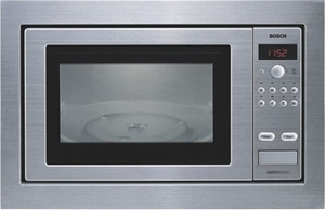 Bosch 27l Stainless Steel Built In Microwave Oven